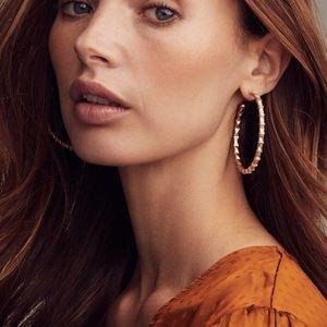 Kendra Scott, Gold Veda Hoop Earrings